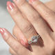 Close-up view of diamond ring and woman hand - PhotoDune Item for Sale