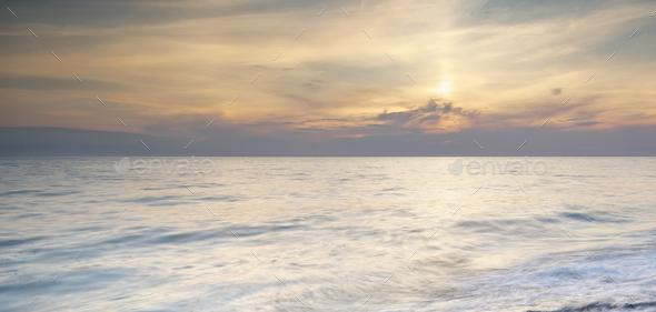 Beautiful seascape nature - Stock Photo - Images