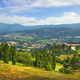 Poppi medieval village panoramic view. Casentino Arezzo, Tuscany Italy - PhotoDune Item for Sale