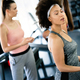 Fitness, sport, healthy and lifestyle concept. Smiling african american woman in gym - PhotoDune Item for Sale