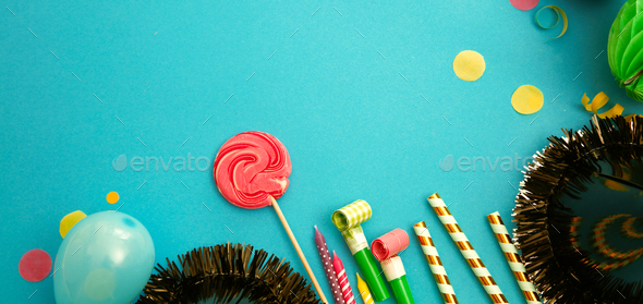 Birthday background - Stock Photo - Images