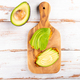 Sweet potato toasts with avocado - PhotoDune Item for Sale