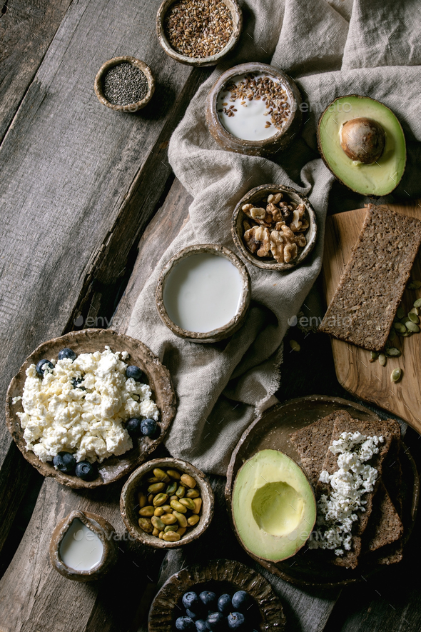 Healthy breakfast variety - Stock Photo - Images