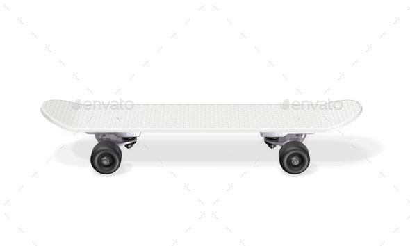 Skateboard on a white background. - Stock Photo - Images