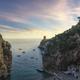 Furore beach bay in Amalfi coast, panoramic view. Italy - PhotoDune Item for Sale