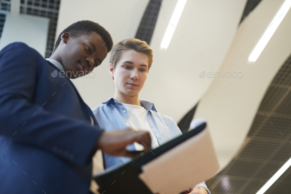Young Entrepreneurs at Business Company - Stock Photo - Images