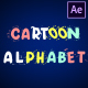 Cartoon Alphabet | After Effects - VideoHive Item for Sale