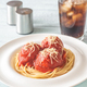 Meatballs with tomato sauce and pasta - PhotoDune Item for Sale