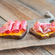 Spanish sandwiches with salchichon anb jamon - PhotoDune Item for Sale