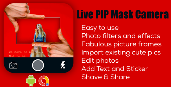 Live PIP Camera   Live PIP Camera Effect   Android App   Admob ads
