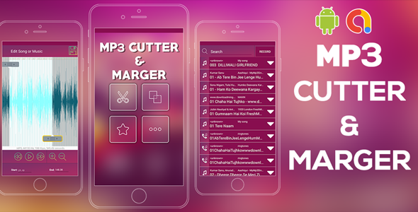 MP3 Cutter and Audio Merger    Audio MP3 Cutter Mix Converter   Android app   Admob ads