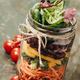 Healthy Homemade Mason Jar Salad - PhotoDune Item for Sale