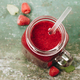 Berry smoothie on rustic background - PhotoDune Item for Sale