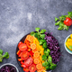 Fresh healthy vegetarian rainbow salad - PhotoDune Item for Sale