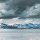 Oppland, Tyin Lake, Norway. Stones On Coast Of Beautiful Lake Tyin In Summer Cloudy Day. Norwegian - PhotoDune Item for Sale
