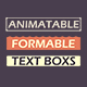 Animatable Formable Text Boxes - VideoHive Item for Sale