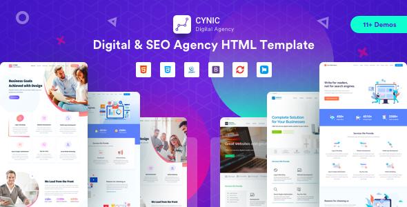 Digital Agency | Cynic - Digital Agency SEO Agency HTML Template