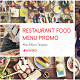 Restaurant Menu Food Promo - VideoHive Item for Sale