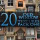 20 Old Window Textures - Pack One - GraphicRiver Item for Sale
