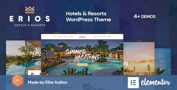 Erios - Resort & Hotel WordPress Theme