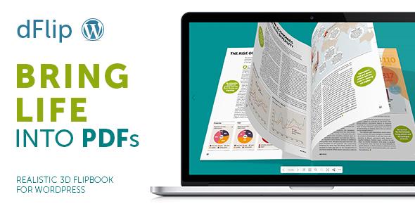 dFlip PDF FlipBook WordPress Plugin Nulled