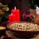 Kutya. Christmas porridge made of wheat grains, poppy seed, nuts, raisins and honey. - PhotoDune Item for Sale