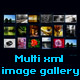 Dynamic xml horizontal image gallery