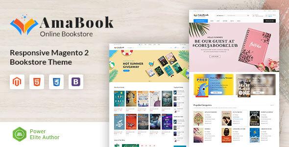 AmaBook - MultiPurpose Responsive Magento Theme