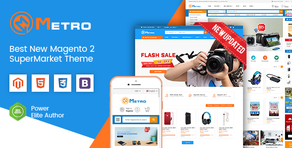 12 Best 2020's Newest Premium Magento Themes  for February 2019