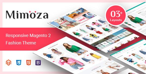 Mimoza – Fashion Responsive Magento 2 Theme