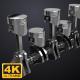 Engine Pistons V1 - 4K - VideoHive Item for Sale