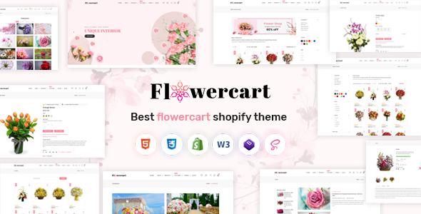 Flowercart - Flower Shop Shopify Theme
