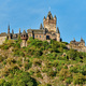 Beautiful Reichsburg castle on a hill in Cochem, Germany - PhotoDune Item for Sale