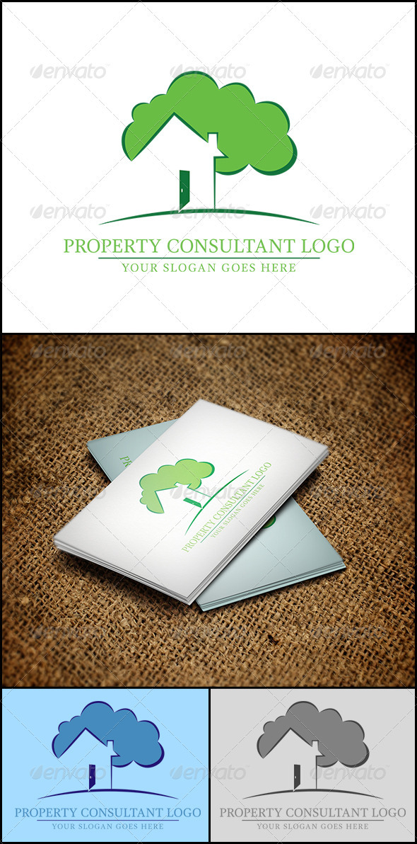 Property Consultant Logo - Abstract Logo Templates