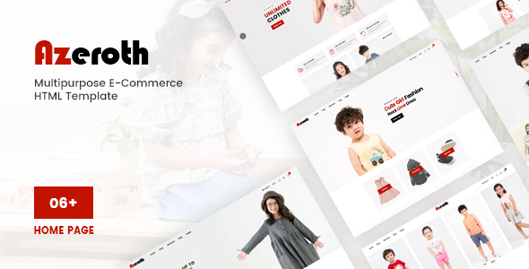 Azeroth - Multipurpose E-commerce HTML Template by dreamingtheme