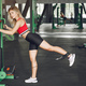 Sports blonde in a sportswear training in a gym - PhotoDune Item for Sale