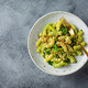 Pasta with green pesto sauce, broccoli and cashew nuts - PhotoDune Item for Sale