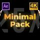 Clean Minimal Pack - VideoHive Item for Sale