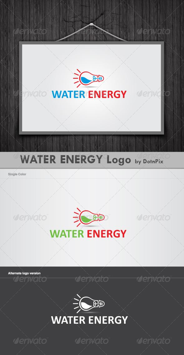Water Energy Logo - Symbols Logo Templates