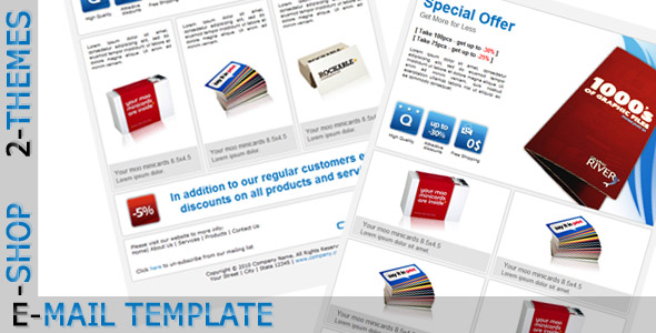 Free Download E-SHOP - Email Template Nulled Latest Version
