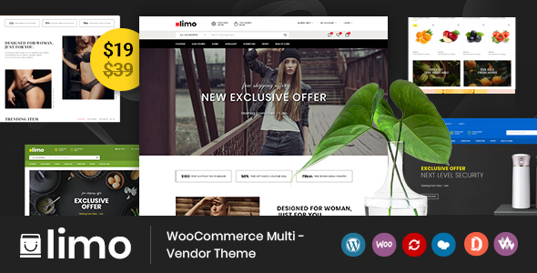 Limo - Multipurpose WooCommerce Theme by TemplateMela