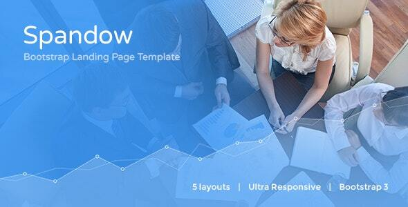 Spandow - Responsive Bootstrap Landing Page Template by responsiveexperts