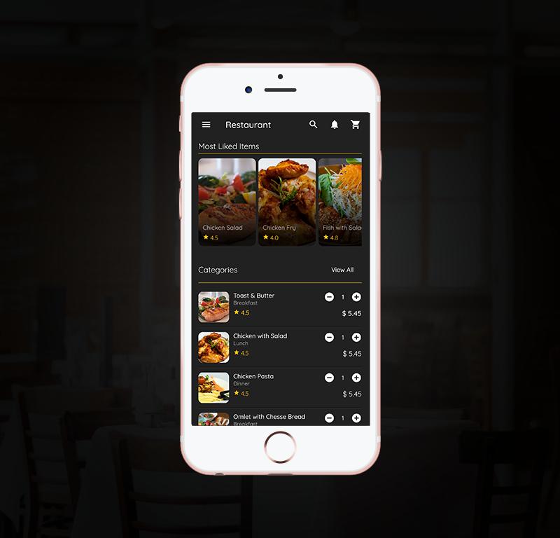 Flutter App - Restaurant Template - 2