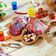 Various Meat Delicacies and Spices on Wooden Table - PhotoDune Item for Sale