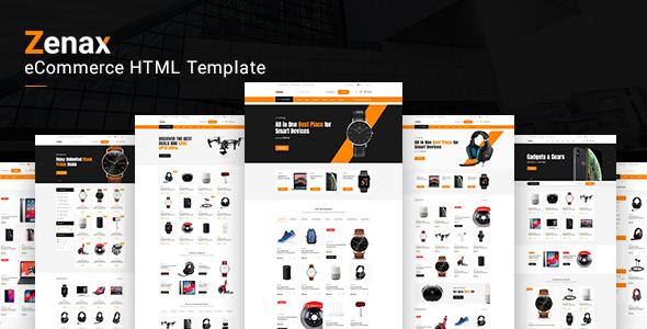Zenax - eCommerce HTML template