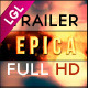Epica Cinematic Movie Traile - VideoHive Item for Sale