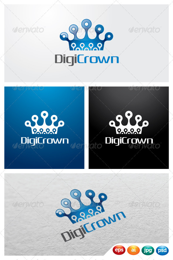 DigiCrown - 3d Abstract