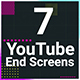 YouTube End Screen Pack - VideoHive Item for Sale