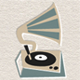 Vintage Style Gramophone - Fresh & Minimal - GraphicRiver Item for Sale