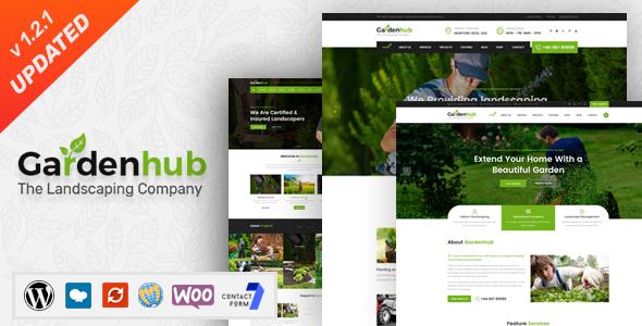 Garden HUB - Lawn & Landscaping WordPress Theme by SteelThemes